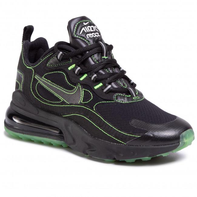 Shoes NIKE - Air Max 270 React Sp CQ6549 001 Black/Black/Electric Green