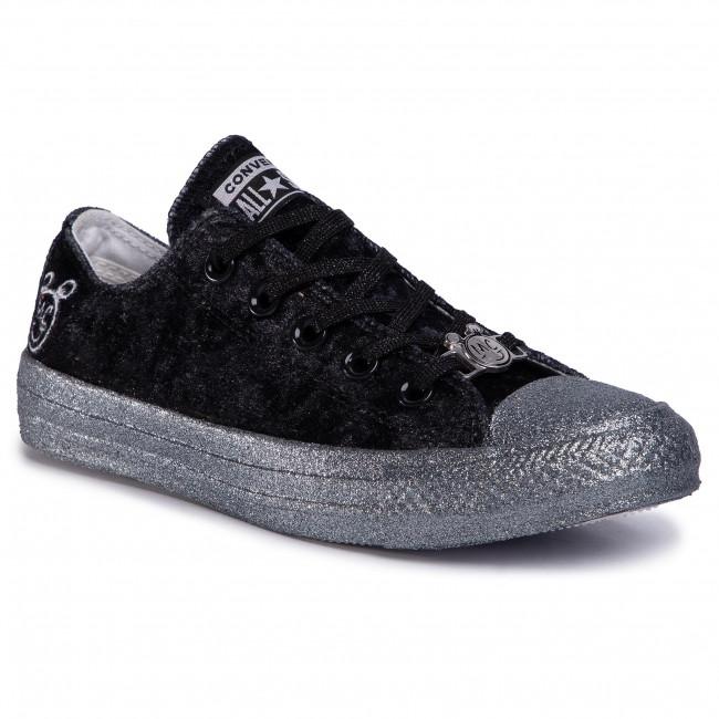 Sneakers CONVERSE - Ctas Ox 563722C Black/Silver/White