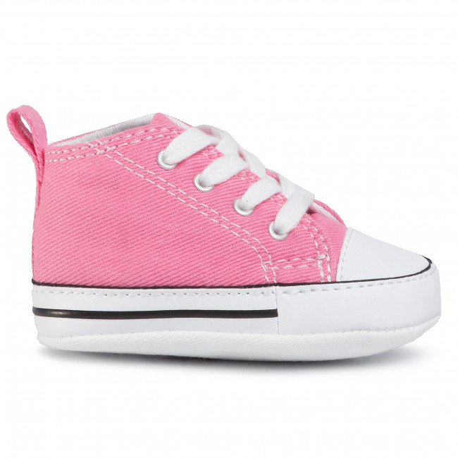 Sneakers CONVERSE First Star Hi 88871 Pink Laced shoes