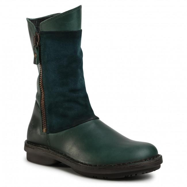 Knee High Boots FLY LONDON - Fleefly P211033002 Petrol/Petrol