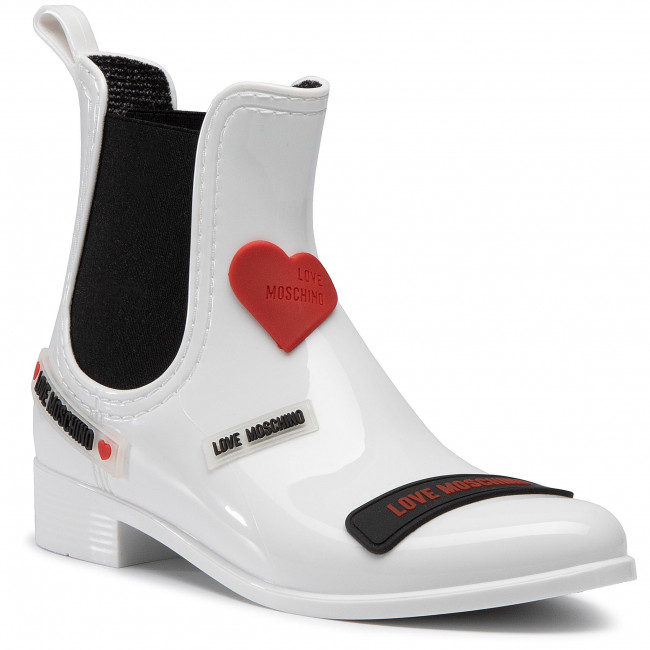 Wellingtons LOVE MOSCHINO - JA21043G1BIR1100  Bianco