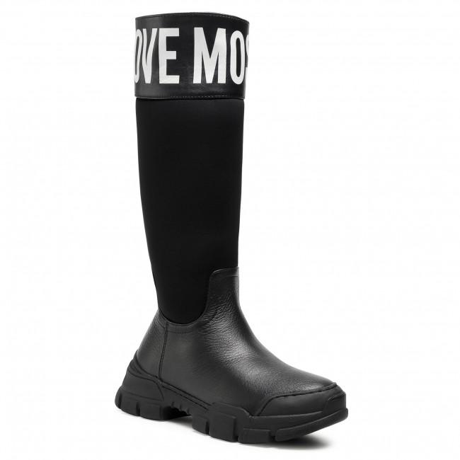 Knee High Boots LOVE MOSCHINO - JA15594G0BJB100A  Nero
