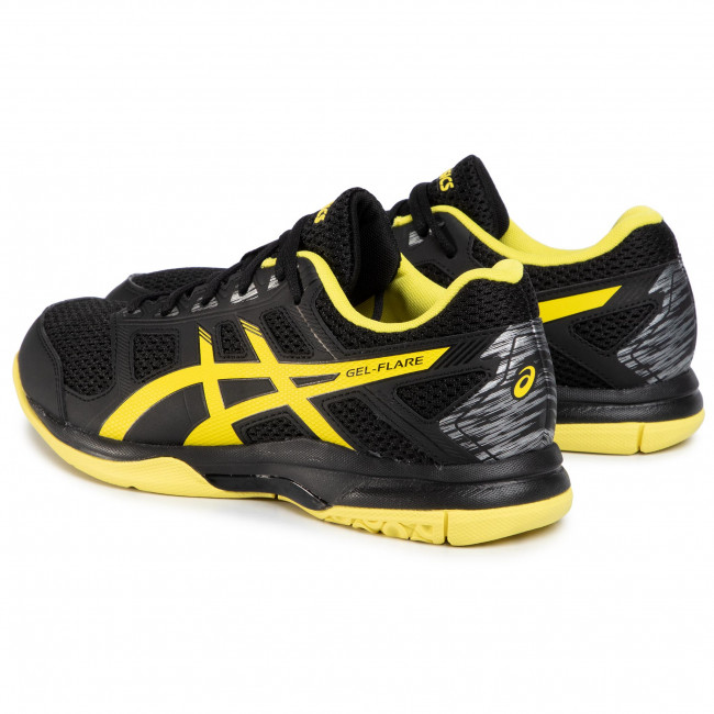 Shoes ASICS - Gel-Flare 6 B70PQ Black/Lemon Spark 001