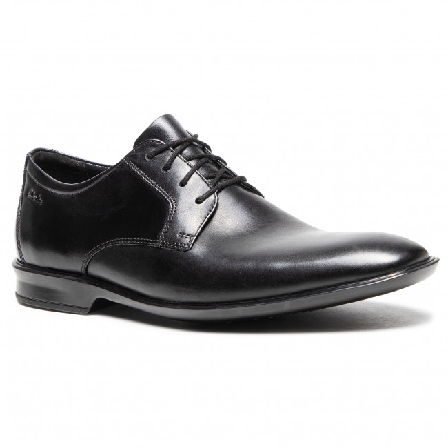 Shoes CLARKS - Bensley Lace 261476857 Black Leather