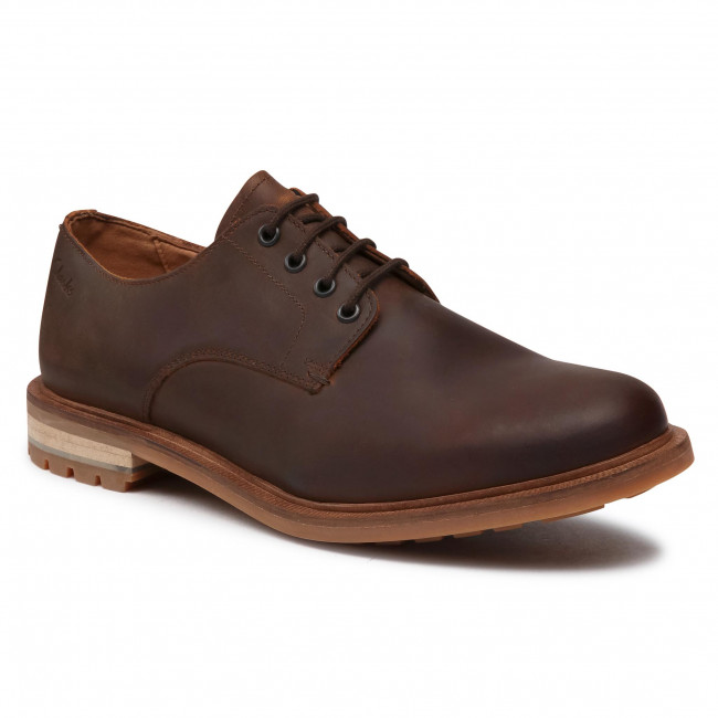 Shoes CLARKS - Foxwell Hall 261521397  Beeswax Leather