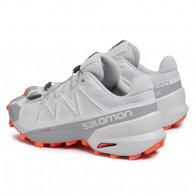 Shoes SALOMON Speedcross 5 408006 27 G0 Vapor BlueAlloyCherry Tomato