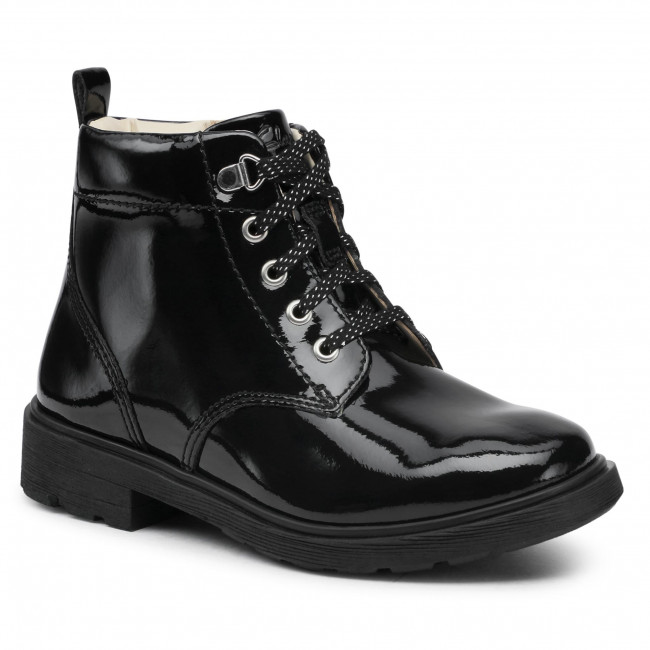 Boots CLARKS - Astrol Lace K 261526956  Black Patent