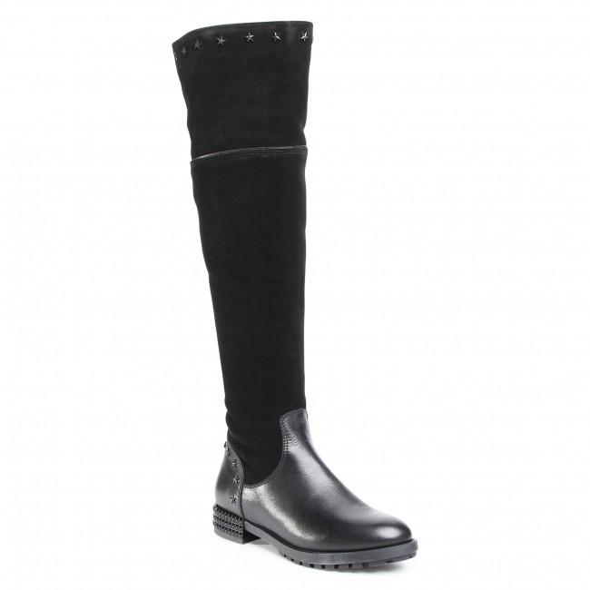 Over-Knee Boots SIMEN - 3252A  Sandro 04/W.Czarny