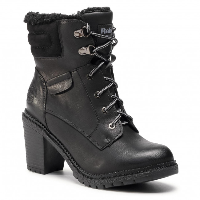 Ankle boots REFRESH - 72365  Black