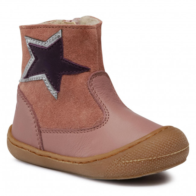 Boots NATURINO - Reis 0013001420.11.0M01 Rosa Antico