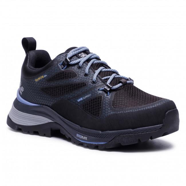 Trekker Boots JACK WOLFSKIN - Force Striker Texapore Low W 4038891 Black/Blue