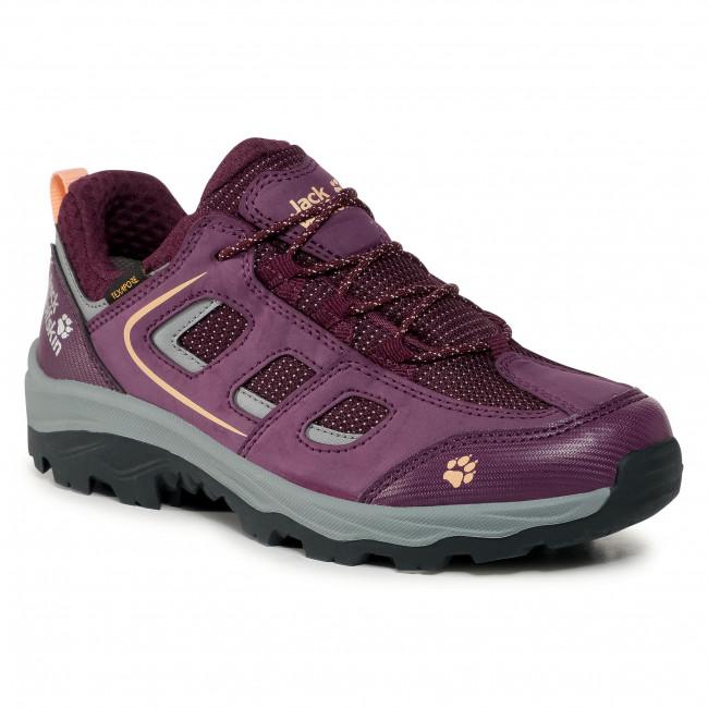 Trekker Boots JACK WOLFSKIN - Vojo Texapore Low K 4042191 D Purple/Coral