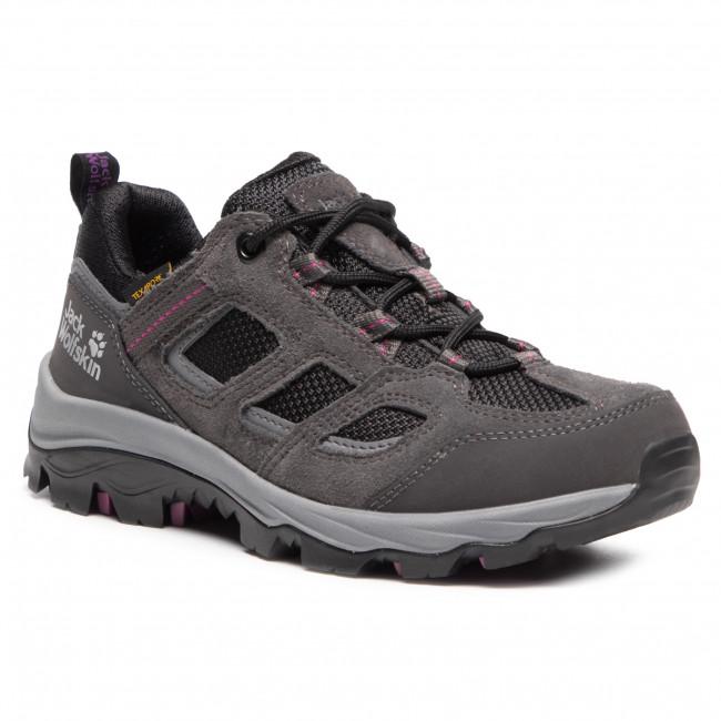 Trekker Boots JACK WOLFSKIN - Vojo 3 Texapore Low W 4042451 Dark Steel/Purple