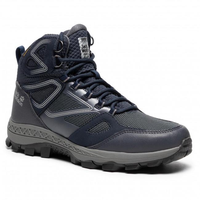 Trekker Boots Jack Wolfskin Downhill Texapore Mid M 4043871 Dark Blue Grey Trekker Boots High Boots And Others Men S Shoes Efootwear Eu