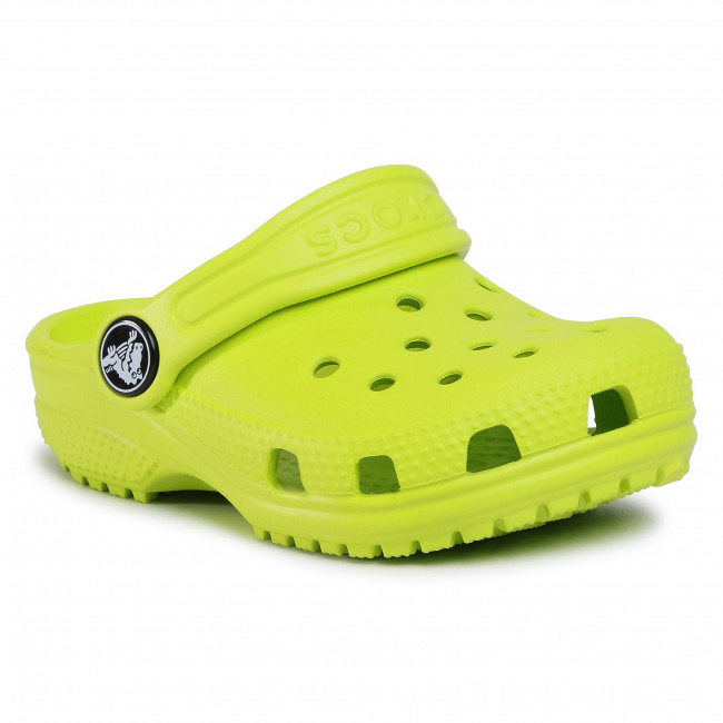 Slides CROCS - Classic Clog K 204536 Lime Punch