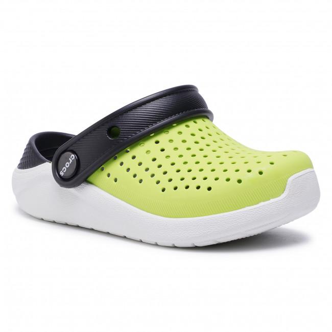 Slides CROCS - Literide Clog K 205964 Lime Punch/Black