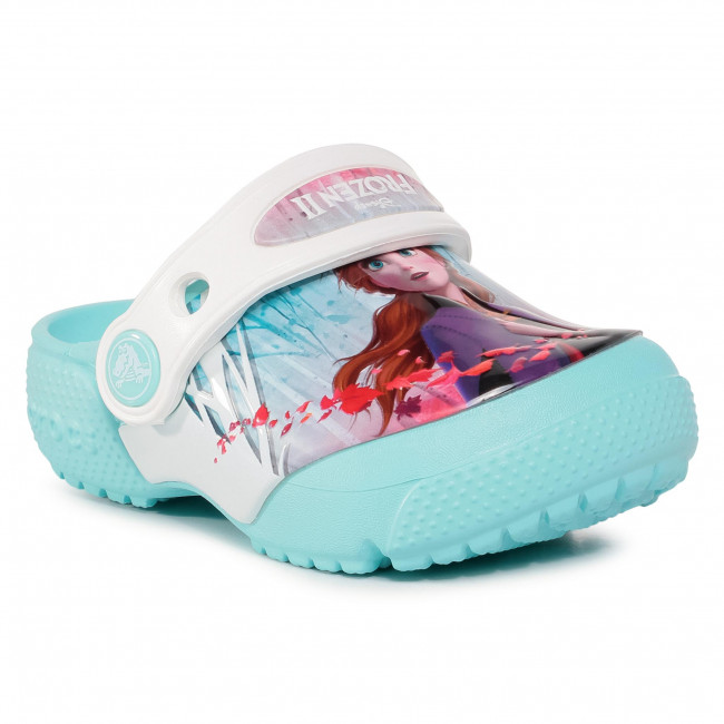 Slides CROCS - Crocsfl Ol Disney Frozen2 Cg K 206167 Ice Blue