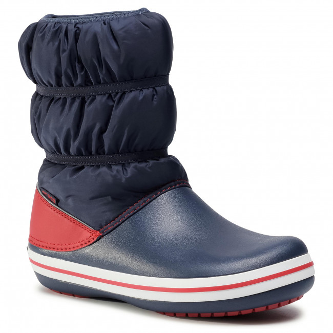 Snow Boots CROCS - Crocband Winter Boot K 206550 Navy/Red