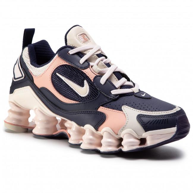 Shoes NIKE - Shox Tl Nova AT8046 400 Blackened Blue/Lt Orewood Brn