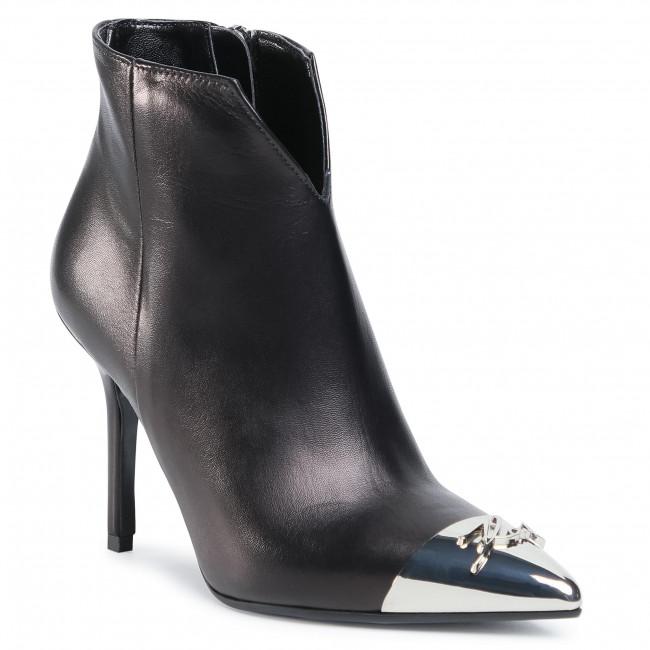 Ankle boots KARL LAGERFELD - KL30080  Black Lthr