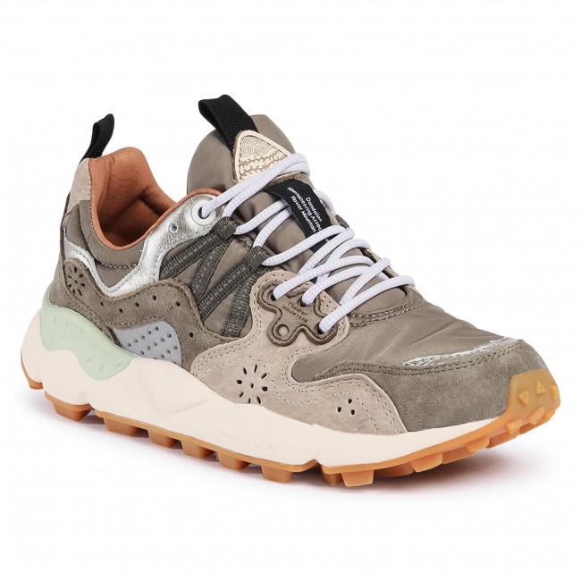 Trainers FLOWER MOUNTAIN - Yamano 3 Woman 0012015421.01.1F33 Military/Multi  - Sneakers - Low shoes - Women's shoes | efootwear.eu