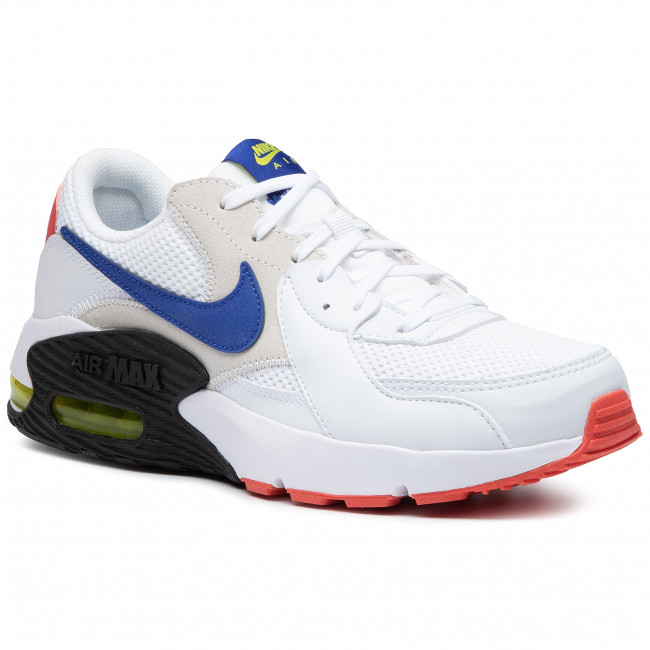 Shoes NIKE - Air Max Excee CD4165 101 White/Hyper Blue/Bright Cactus