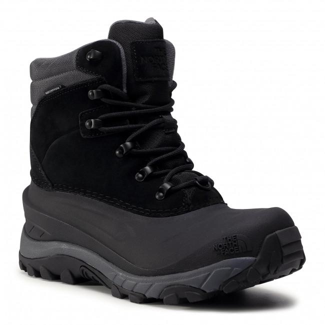 Trekker Boots THE NORTH FACE - Chilkat IV NF0A4OAFZU51 Tnf Black/Dark Shadow Grey