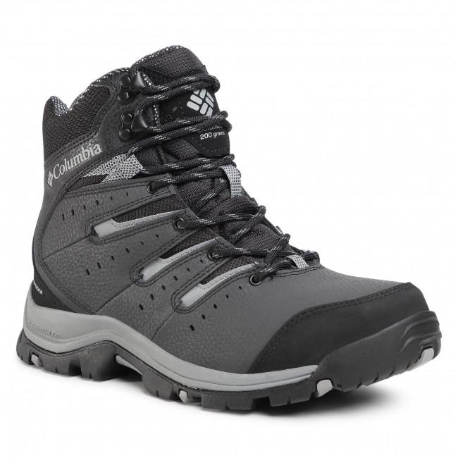 Trekker Boots COLUMBIA - Gunnison II Omni-Heat BM0837 Black/Ti Grey Steel 010