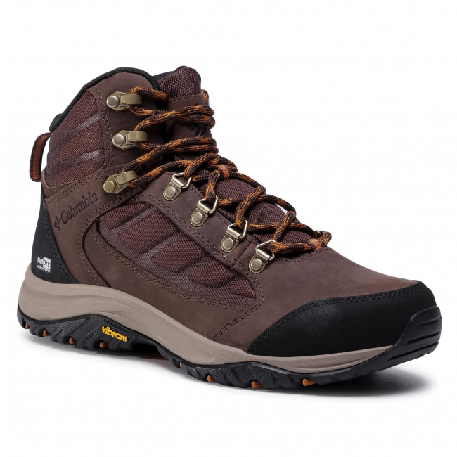 Trekker Boots COLUMBIA - 100MW Mid Outdry BM0812  Tobacco/Canyon Gold 256