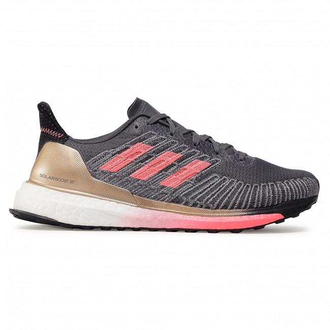 Solo haz muñeca Conquistador  Footwear adidas - Solar Boost St 19 M FW7811 Grey Five/Signal Pink/Copper  Metallic - Indoor - Running shoes - Sports shoes - Men's shoes    efootwear.eu