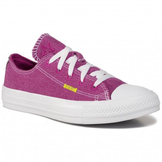 Sneakers CONVERSE - Ctas Ox 168601C Cactus Flower/Lemon Venom
