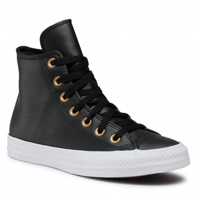 Plimsolls CONVERSE - Ctas Hi 568659C Black/Gold/White