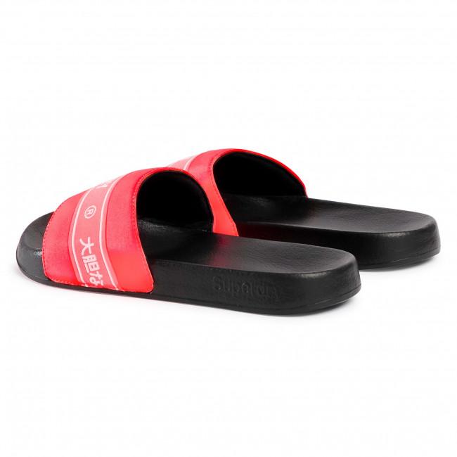 Superdry Womens Tape Pool Slide Sandal