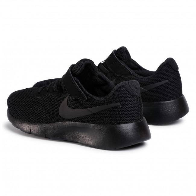 celos estafa Colector  Shoes NIKE - Tanjun (PSV) 844868 001 Black/Black - Velcro - Low shoes -  Girl - Kids' shoes   efootwear.eu