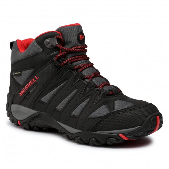 Trekker Boots MERRELL - Accentor Sport 2 Mid Gtx GORE-TEX J035421 Black/Magma