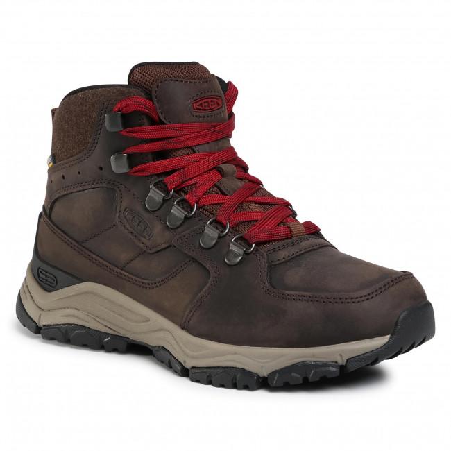 Trekker Boots KEEN -  Innate Leather Mid Wp 1022365 Chestnut/Red Dahlia