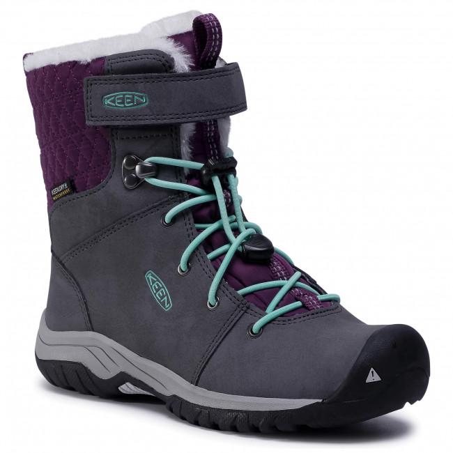 Snow Boots KEEN - Hoodoo III Mid Wp 1024007 Magnet/Plum Purple