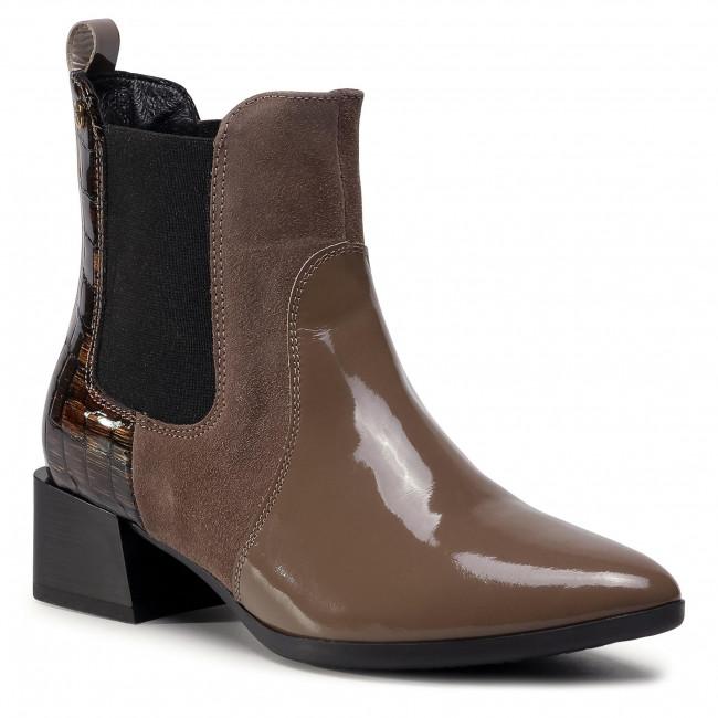 Chelsea boots MACIEJKA - 04754-02/00-3 Brąz Jasn
