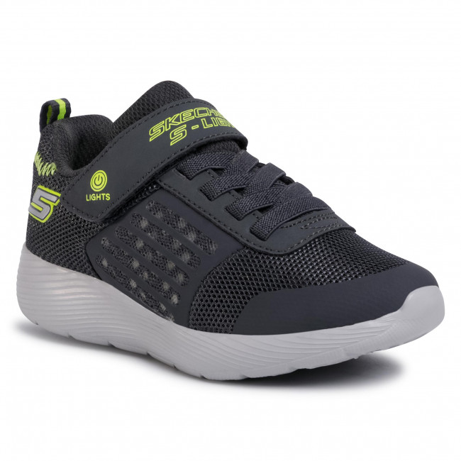 Trainers SKECHERS - Dyna-Lights 90740L/CCYL Charcoal/Yellow