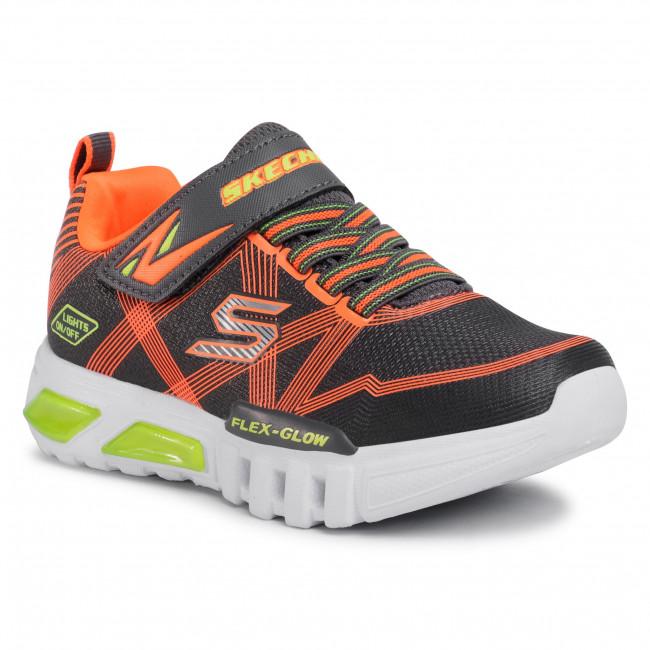 Flex-Glow 90542L/CCOR Charcoal/Orange