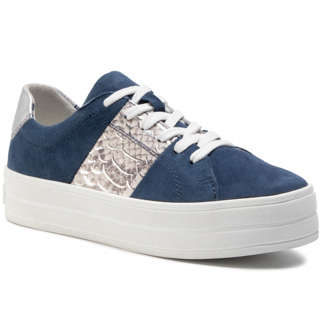 Trainers MARCO TOZZI - 2-23767-24 Navy