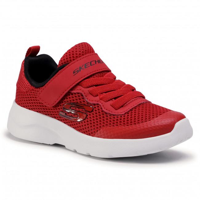 Footwear SKECHERS - Vordix 97786L/RDBK Red/Black