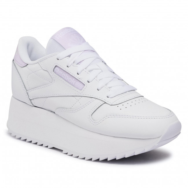 Footwear Reebok - Cl Lthr Double FY7264  White/Lumlil/White
