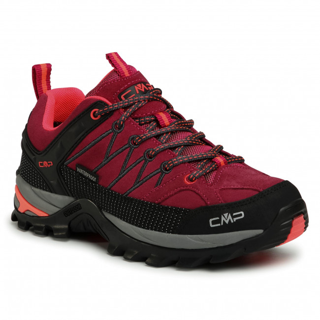 Trekker Boots CMP - Rigel Low Wmn Trekking Shoes Wp 3Q13246 Magenta/Antracite 06HF