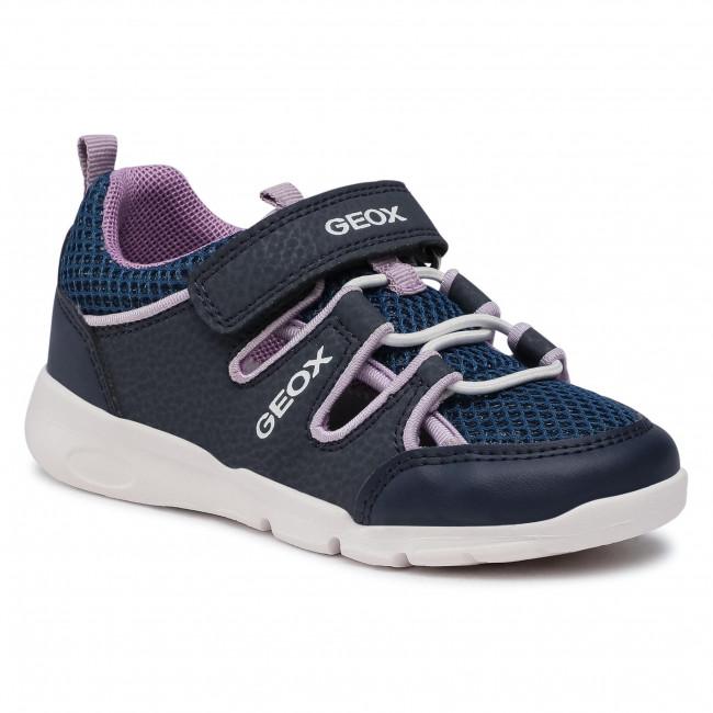 Trainers GEOX - B Runner G. F B15H8F 0CE14 C4267 S Navy/Violet