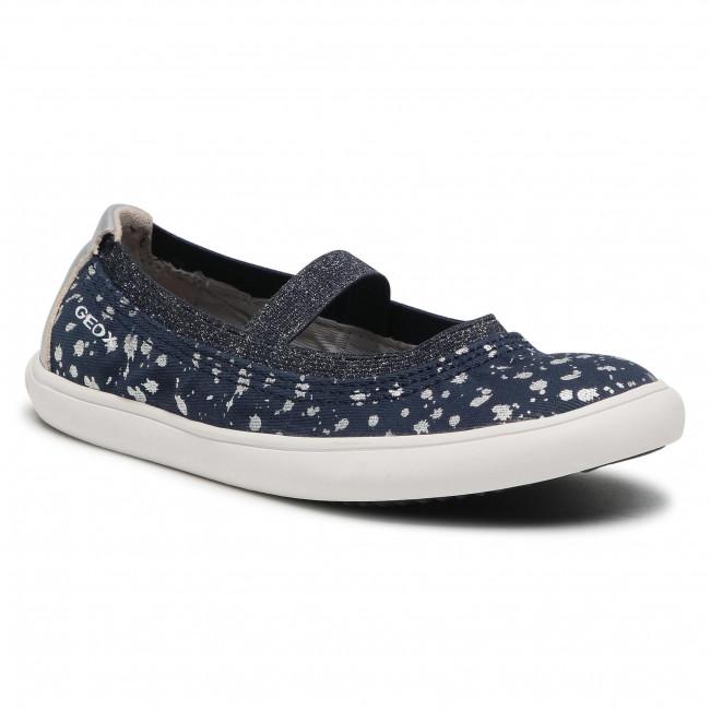 Shoes GEOX - J Gisli G. A J154NA 010HI C0673 S Navy/Silver