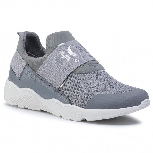 Trainers BOSS - J29J93 D Medium Grey 045