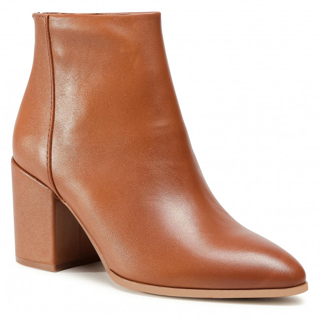 Ankle boots STEVE MADDEN - Jillian SM11000715-03001-247 Cognac Leather