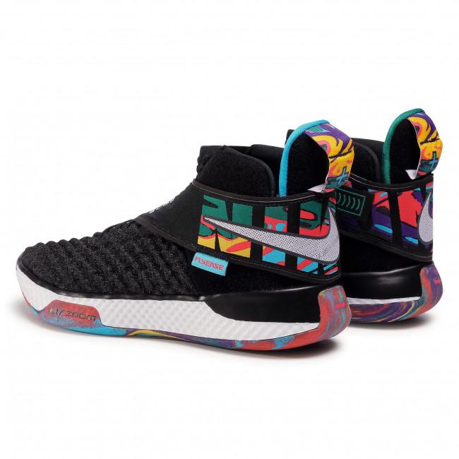 Footwear NIKE - Air Zoom Unvrs Flyease CQ6422 001 Black/White/Black/Current Blue