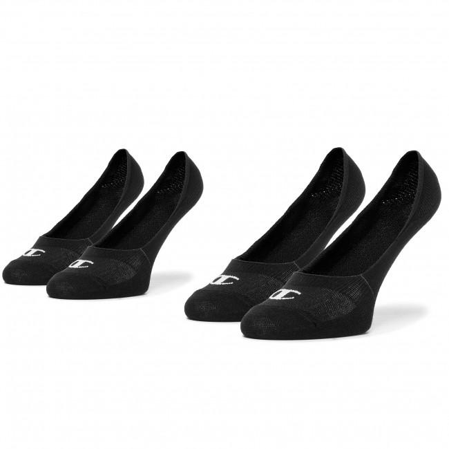 Set of 2 pairs of unisex boat socks CHAMPION - CH0008QK 8VA  Black